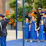 NLD/Amsterdam/20130430 - Inhuldiging Koning Willem - Alexander, crownprincess Amalia, princess Ariana and Alexia