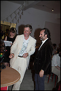 MIKE RUNDELL; MIKE NELSON, Matt's Gallery 35th birthday fundraising supper.  42-44 Copperfield Road, London E3 4RR. 12 June 2014.