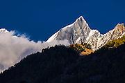 Peaks of the Alps near Zermatt, Switzerland