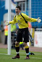 Photo: Jed Wee/Sportsbeat Images.<br /> Carlisle United v Bristol City. Coca Cola League 1. 21/04/2007.<br /> <br /> Carlisle's Keiren Westwood.