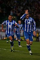 Football - League One - Brighton & Hove Albion vs. Dagenham and Redbridge<br /> Brighton's Glenn Murray celebrates scoring Brighton's second goal at The Withdean Stadium