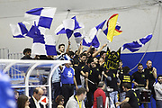 DESCRIZIONE : Capo dOrlando Lega A 2014-15 Orlandina UPEA Basket Acqua Vitasnella Cantu  <br /> GIOCATORE :  Supporters Orlandina<br /> CATEGORIA :  Tifosi Supporters<br /> SQUADRA : Orlandina UPEA Basket Acqua Vitasnella Cantu  <br /> EVENTO : Campionato Lega A 2014-2015 <br /> GARA : Orlandina UPEA Basket Acqua Vitasnella Cantu  <br /> DATA : 14/12/2014<br /> SPORT : Pallacanestro <br /> AUTORE : Agenzia Ciamillo-Castoria/G. Pappalardo <br /> Galleria : Lega Basket A 2014-2015 <br /> Fotonotizia : Capo dOrlando Lega A 2014-15 Orlandina UPEA Basket Acqua Vitasnella Cantu