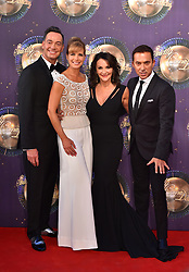 Left to right, Craig Revel Horwood, Darcey Bussell, Shirley Ballas and Bruno Tonioli at the launch of Strictly Come Dancing 2017 at Broadcasting House in London. PRESS ASSOCIATION Photo. Picture date: Monday August 28th, 2017