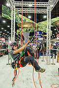 GIE+EXPO 2019, captured Thursday, Oct. 17, 2019, at the Kentucky Exposition Center in Louisville, Ky. (Photo by Brian Bohannon)