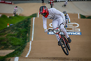 #26 (DARNAND Simba) FRA at Round 2 of the 2020 UCI BMX Supercross World Cup in Shepparton, Australia.