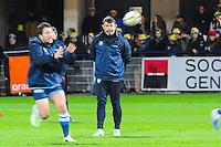David DARRICARRERE  - 20.12.2014 - Clermont / Castres - 13eme journee de Top 14 -<br /> Photo : Jean Paul Thomas / Icon Sport