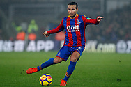 Yohan Cabaye of Crystal Palace in action. Premier League match, Crystal Palace v Everton at Selhurst Park in London on Saturday 18th November 2017.<br /> pic by Steffan Bowen, Andrew Orchard sports photography.