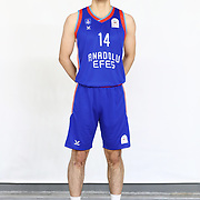 Anadolu Efes's Muhammet Ali Gunes during the 2020-2021 Garanti BBVA BGL Media Day at the Anadolu Efes Sports Hall on February 02, 2021 in İstanbul, Turkey. Photo by Aykut AKICI/TURKPIX