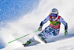 22.10.2016, Rettenbachferner, Soelden, AUT, FIS Weltcup Ski Alpin, Soelden, Riesenslalom, Damen, 1. Durchgang, im Bild Eva-Maria Brem (AUT) // Eva-Maria Brem of Austria in action during 1st run of ladies Giant Slalom of the FIS Ski Alpine Worldcup opening at the Rettenbachferner in Soelden, Austria on 2016/10/22. EXPA Pictures © 2016, PhotoCredit: EXPA/ Nisse Schmid<br /> <br /> *****ATTENTION - OUT of SWE*****