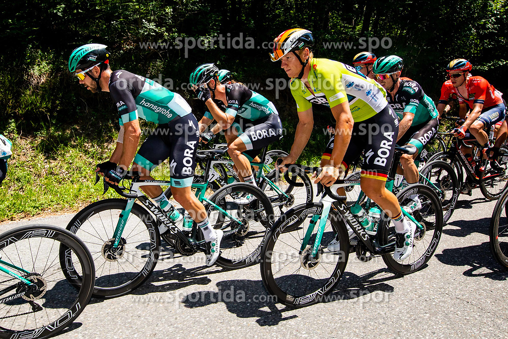 Michael Schwarzmann (GER) of Bora - Hansgrohe and Pascal Ackermann (GER) of Bora - Hansgrohe with other cyclists during 2nd Stage of 26th Tour of Slovenia 2019 cycling race between Maribor and  Celje (146,3 km), on June 20, 2019 in Celje, Maribor, Slovenia. Photo by Vid Ponikvar / Sportida