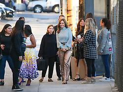 Marina de Tavira and Yalitza Aparicio are seen arriving at 'Jimmy Kimmel Live' in Los Angeles, California. NON-EXCLUSIVE December 18, 2018. 18 Dec 2018 Pictured: Marina de Tavira. Photo credit: BG017/Bauergriffin.com / MEGA TheMegaAgency.com +1 888 505 6342
