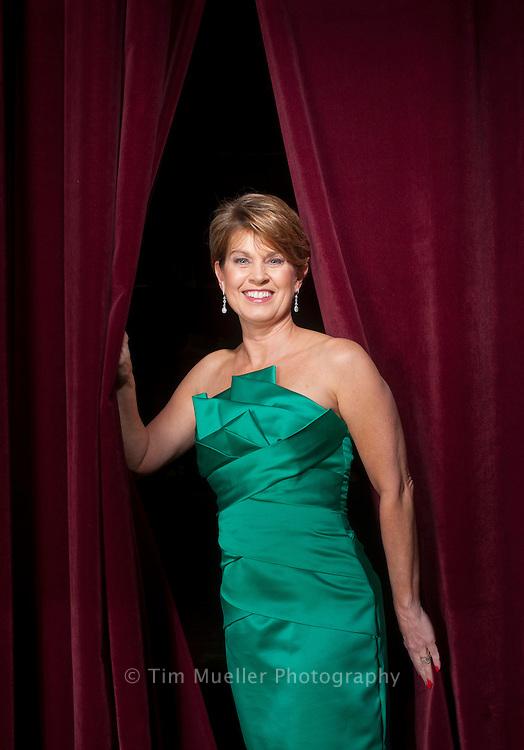 Baton Rouge philanthropist Paula Pennington de la Bretonne supports the Great Performers in Concert Series at the Baton Rouge River Center Performing Arts Theatre.