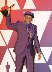 The 91st Annual Academy Awards Press Room at The Dolby Theatre in Hollywood, California on 2/24/19. 24 Feb 2019 Pictured: Spike Lee. Photo credit: River / MEGA TheMegaAgency.com +1 888 505 6342