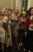 Jemima French, Sadie Frost,Daisy Shields, Simon Jackson and Beth Lewis. Franc Roddam and Frost French host a party to celebrate the publication of ' Margarita's Olive Press' by Rodney Shileds. 1 Greek St. Soho Sq. London. 15 September 2005.  ONE TIME USE ONLY - DO NOT ARCHIVE  © Copyright Photograph by Dafydd Jones 66 Stockwell Park Rd. London SW9 0DA Tel 020 7733 0108 www.dafjones.com