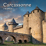 Carcassonne Medieval Fortified City France - Pictures Images Photos