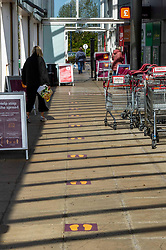 Queues for shopping are reducing with shoppers being able to just turn up and shop