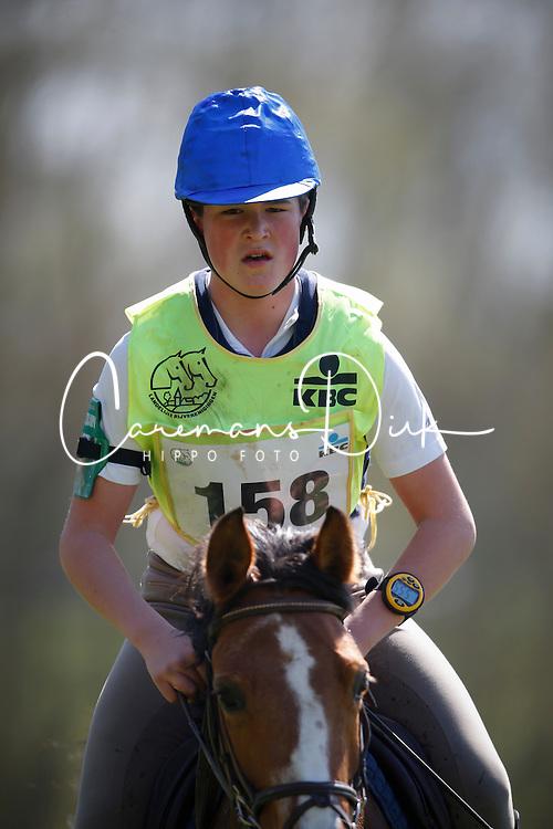 Artoos Wouter (BEL) - Melodie vd Vondelhoeve<br /> Nationale Pony eventing Affligem 2013<br /> © Dirk Caremans