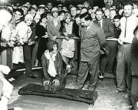 1929 Joan Crawford's hand/footprint ceremony at the Chinese Theater