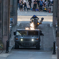 The Flash filming in Glasgow