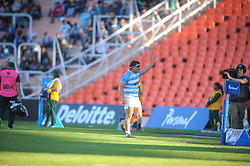 August 25, 2018. Malvinas Argentinas Stadium, Mendoza, Argentina.<br /> AGUSTIN CREEVY leaves the field just few minutes before the end of the match.