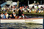 Henley, GREAT BRITAIN,   Stewerd, Angus ROBERTSON, umpiring during the 1997 Henley Royal Regatta, Henley Reach, 2-6 July 1997, Henley, ENGLAND [Mandatory Credit, Peter Spurrier/Intersport-images] 1997 Henley Royal Regatta, Henley, Great Britain