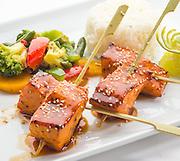 salmon terryaki,sushi,japanese foods,chinese food,
