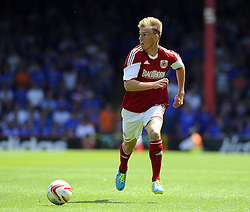 Bristol City's Tom King- Photo mandatory by-line: Joe Meredith/JMP - Tel: Mobile: 07966 386802 13/07/2013 - SPORT - FOOTBALL - Bristol -  Bristol City v Glasgow Rangers - Pre Season Friendly - Bristol - Ashton Gate Stadium