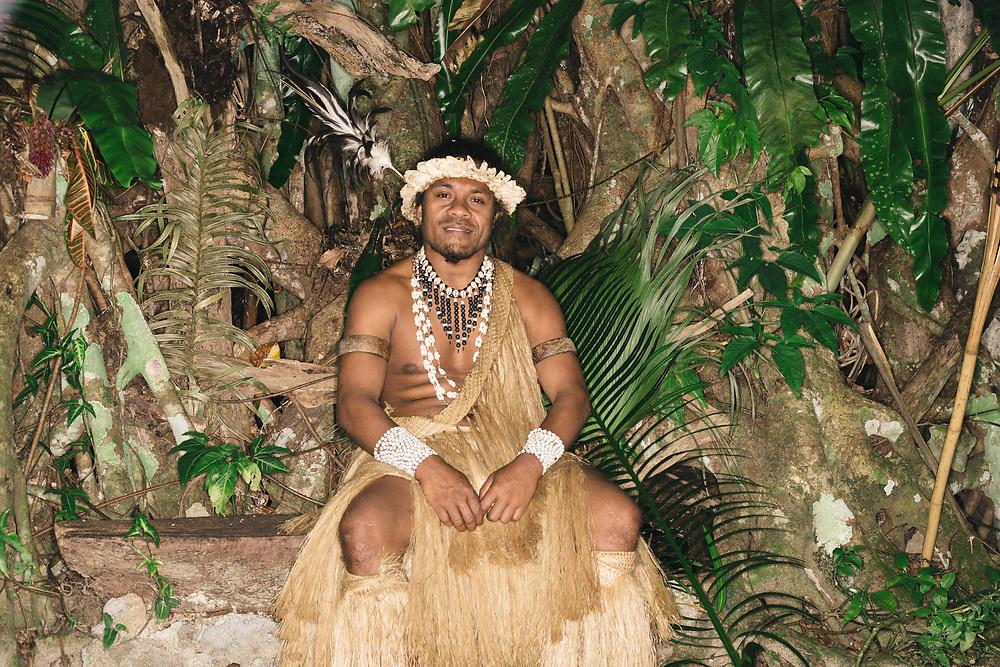 Chief in Port Vila, Vanuatu, South Pacific