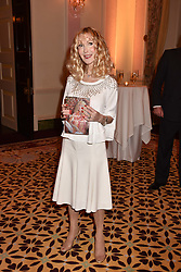 Basia Briggs at a reception to celebrate the publication on 'Mother Anguish' by Basia Briggs held in The Music Room, The Ritz Hotel, 150 Piccadilly, London, England. 04 December 2017.