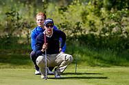 11-05-2019 Foto's NGF competitie hoofdklasse poule H1, gespeeld op Drentse Golfclub De Gelpenberg in Aalden. Foursomes:   Princenbosch 1 - Felix van Dijk