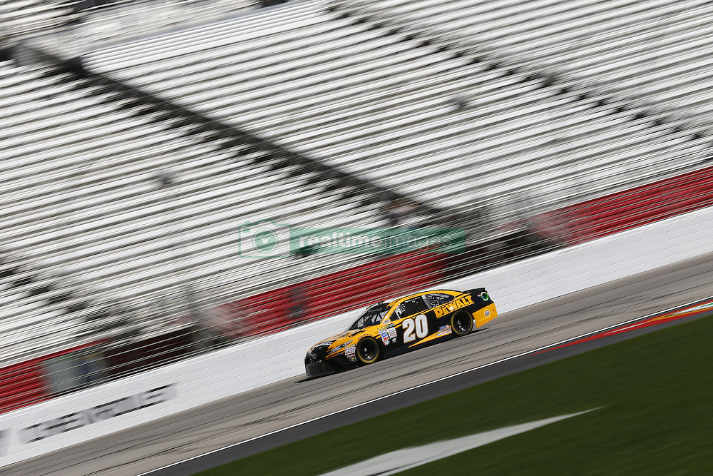March 3, 2017 - Hampton, Georgia, United States of America - March 03, 2017 - Hampton, Georgia, USA: Matt Kenseth (20) takes to the track to practice for the Folds of Honor QuikTrip 500 at Atlanta Motor Speedway in Hampton, Georgia. (Credit Image: © Justin R. Noe Asp Inc/ASP via ZUMA Wire)