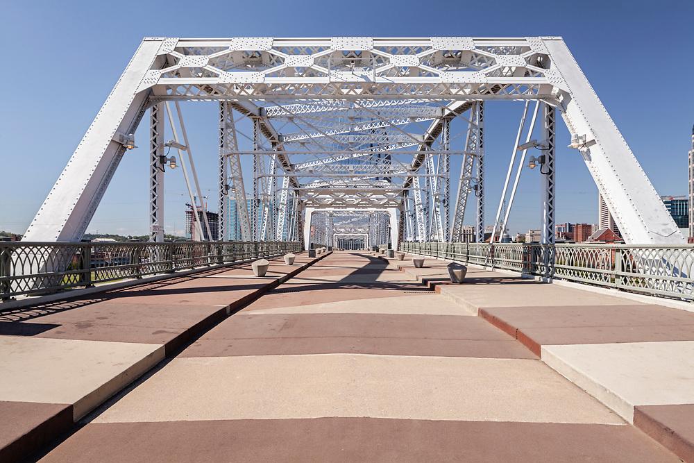 Shelby Street Pedestrian Bridge, Nashville Riverfront