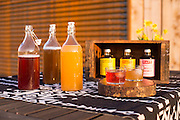 RAFT Syrups are botanics syrups that can be mixed into sodas and cocktails.