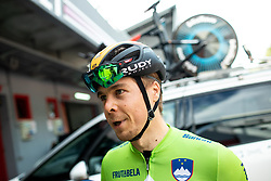 Jan Tratnik of Slovenia after the Men Time Trial at UCI Road World Championship 2020, on September 24, 2020 in Imola, Italy. Photo by Vid Ponikvar / Sportida