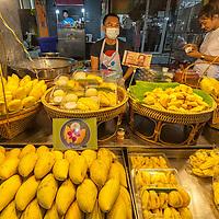 A shop selling mangos in Hua Hin.