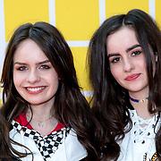 NLD/Amsterdam/20180325 - Nickelodeon Kid's Choice Awards 2018, Sarah Nauta en zus Julia Nauta