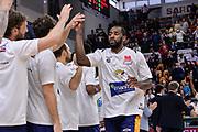 DESCRIZIONE : Beko Legabasket Serie A 2015- 2016 Dinamo Banco di Sardegna Sassari - Manital Auxilium Torino<br /> GIOCATORE : Christian Eyenga<br /> CATEGORIA : Fair Play Before Pregame<br /> SQUADRA : Manital Auxilium Torino<br /> EVENTO : Beko Legabasket Serie A 2015-2016<br /> GARA : Dinamo Banco di Sardegna Sassari - Manital Auxilium Torino<br /> DATA : 10/04/2016<br /> SPORT : Pallacanestro <br /> AUTORE : Agenzia Ciamillo-Castoria/L.Canu