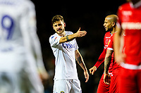 Leeds United's Mateusz Klich cuts a frustrated figure as he fails to link up with his teammate<br /> <br /> Photographer Alex Dodd/CameraSport<br /> <br /> The EFL Sky Bet Championship - Leeds United v Nottingham Forest - Saturday 27th October 2018 - Elland Road - Leeds<br /> <br /> World Copyright © 2018 CameraSport. All rights reserved. 43 Linden Ave. Countesthorpe. Leicester. England. LE8 5PG - Tel: +44 (0) 116 277 4147 - admin@camerasport.com - www.camerasport.com