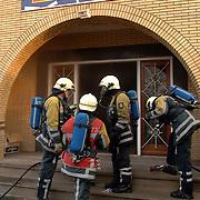 NLD/Huizen/20060127 - Brand havenstraat Huizen Coronel Q-zone lasergames