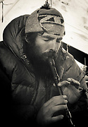 Art Twomey, Canadian climber, author, photographer, expedition mountaineer who took part in New Zealand expeditions to Peru & Nepal