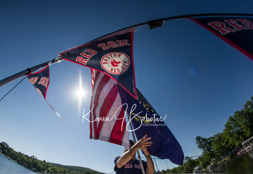 WYC 4th of July boat parade on Lake Winnipesaukee.   (Karen Bobotas/for the Laconia Daily Sun)