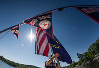 WYC 4th of July boat parade on Lake Winnipesaukee.   (Karen Bobotas/for the Laconia Daily Sun)