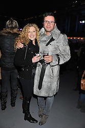 KELLY HOPPEN and  at a Winter Party hosted by Tiffany to celebrate the opening of the Ice Rink at Somerset House for Christmas 2011 held on 21st November 2011.