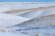 Winter landscape <br /> near Willow Bunch<br /> Saskatchewan<br /> Canada