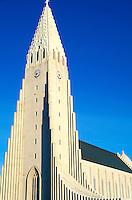 Islande - Reykjavik - Eglise Hallgrim