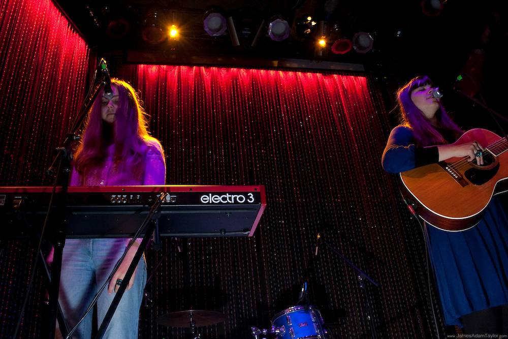 Swedish sisters, Klara and Johanna Söderberg otherwise known as The First Aid Kit Perform Live At Johnny Brenda's in Philadelphia PA.