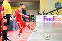 Benfica's Chaguinha during UEFA Futsal Cup 2015/2016 3º/4º place match. April 22,2016. (ALTERPHOTOS/Acero)