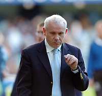 Fotball<br /> <br /> Foto; SBI/Digitalsport<br /> NORWAY ONLY<br /> <br /> Coventry City v Rotherham United Coca Cola championship. 18/09/2004.<br /> Peter Reid gets a bad reception from the Coventry fans.