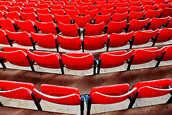 Detail of seats at the Stadium of Light