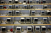 Computer terminals at the Shanghai Stock Exchange in Shanghai, China on 14 July 2009.